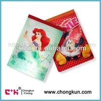 3D Lenticular Notebook with 3D cover