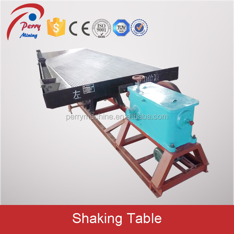 6S Shaking Table Gold Gravitation Machines with High Recovery Rate