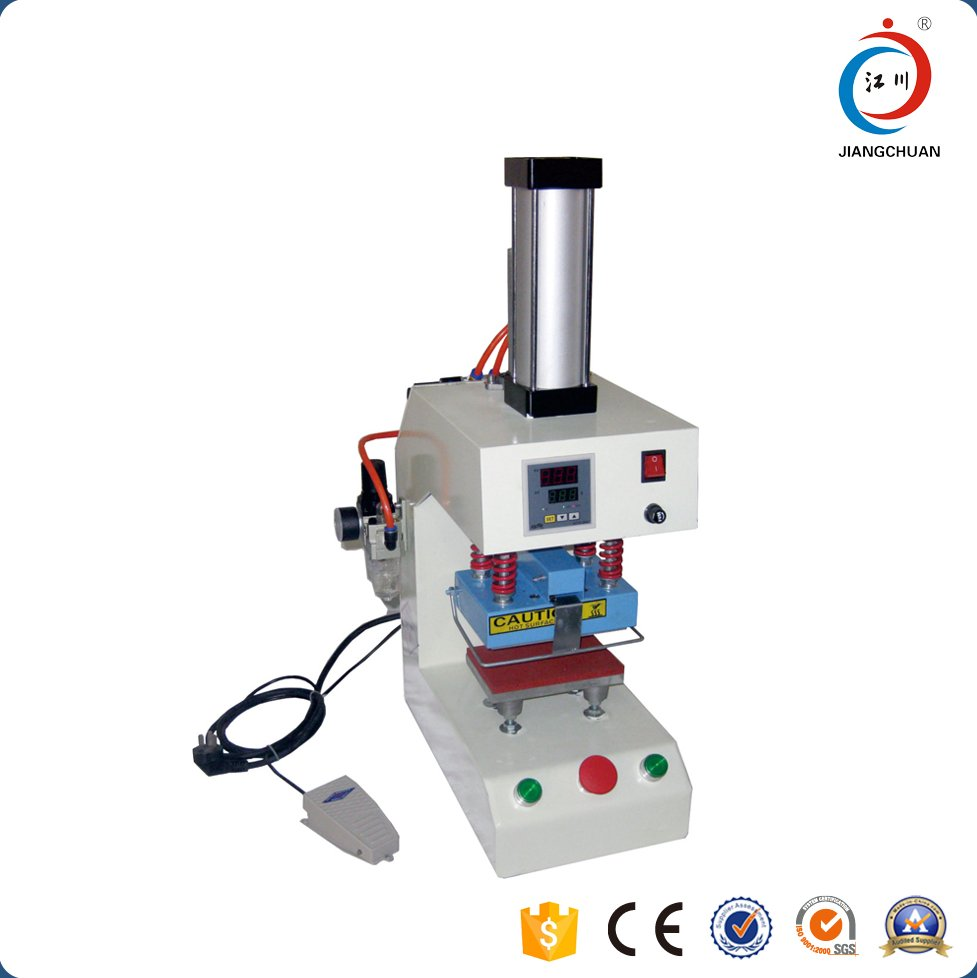 Cheap used digital pneumatic logo marking printing heat press machine