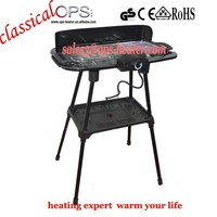 ops non stick coatings cooking plate smokeless bbq grill stands MBQ-002A