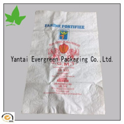 25kg PP bag for flour with lamination