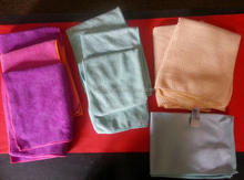 Lot of 9 ~ All-purpose ~ Microfiber Towels House ~ Car Cleaning & Drying Cloths