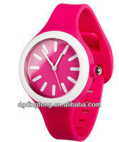 2014 fashion silicone watch high quality jelly candy fancy wrist watch cheap promotion watches