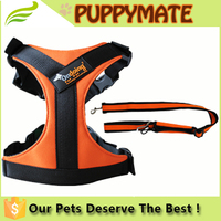 Soft Adjustable Dog Harness , Pet Harness / Dog Vest Collar, Dog Harness Lead Set