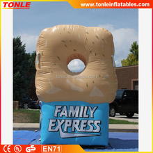 Commercial inflatable promotion advertising Family Express Donut inflatable advertising model