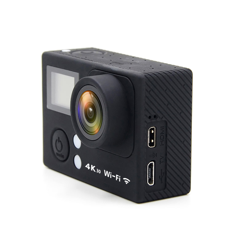 Dual screen 4K WiFi Ultra HD 1080p full hd 40M Waterproof action cam outdoor