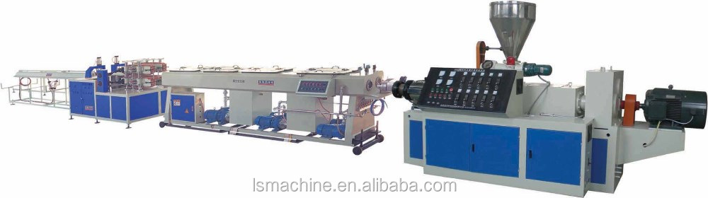 China origin 16-63mm two cavity PVC pipe making machine