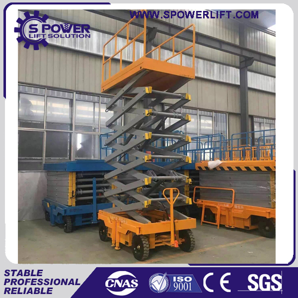 Agriculture harvest used mobile electric scissor lift jacks