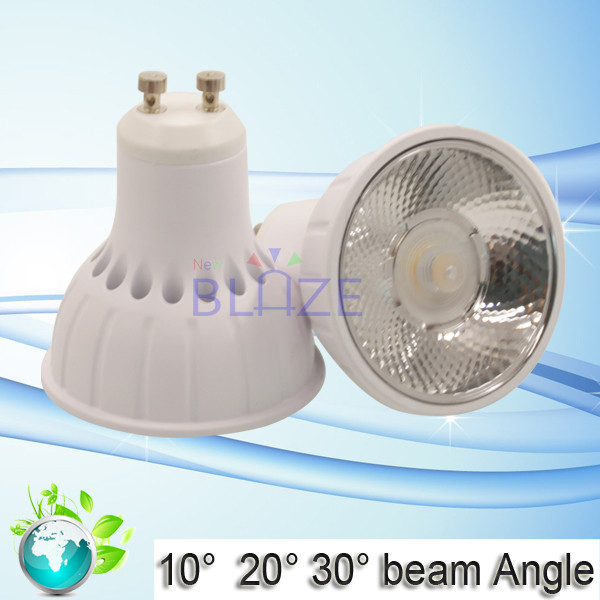 Aluminum Casing GU10 5W 8W Spot Lights LED 3000K