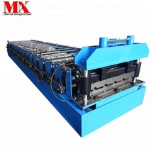 High quality China tile production line factory making metal steel roof and wall panel cold roll forming machine