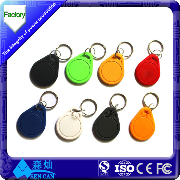 door access control 125hz TK4100 rfid chip tag rfid keyfobs