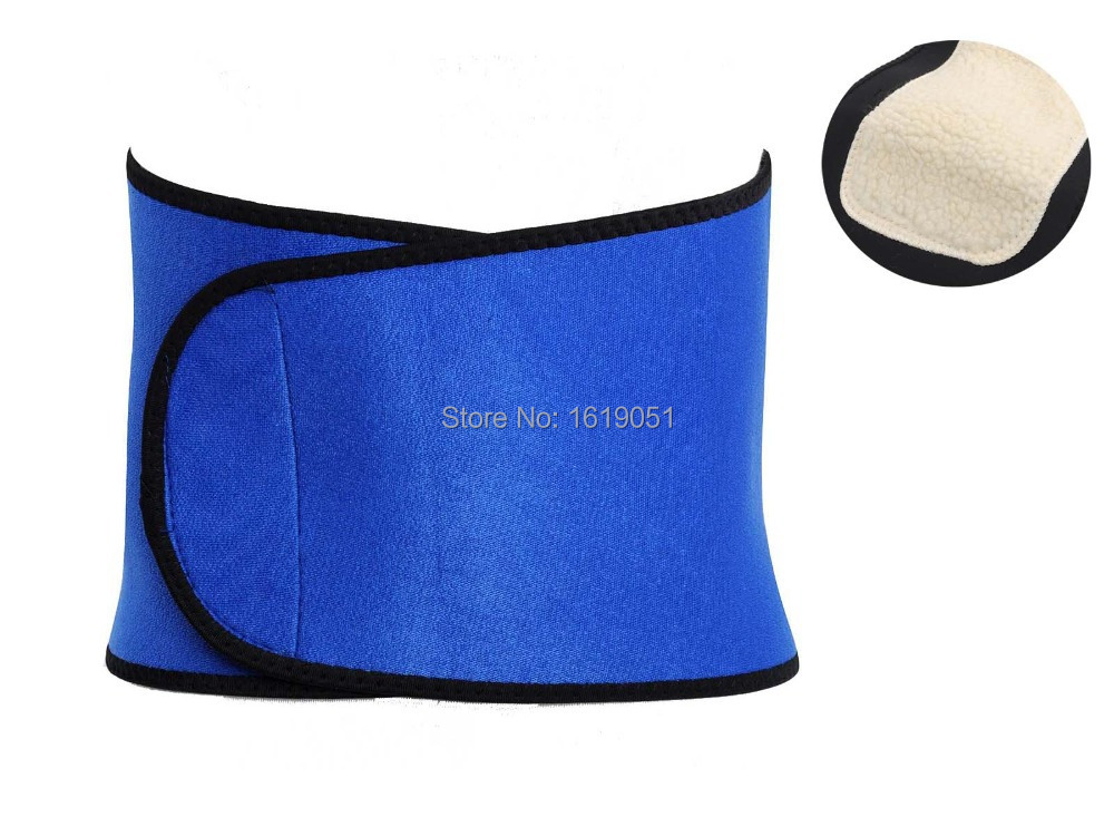 2015 New Adjustable Imitation Wool Comfortable Waist Belt Warm Stomach Abdomen Protection+Free shipping