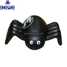 2018 New Black Promotional PU Spider Stress Ball With Logo