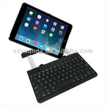 For iPad Air iPad5 360 Degree Rotation bluetooth keyboards with Aluminum Alloy Stand