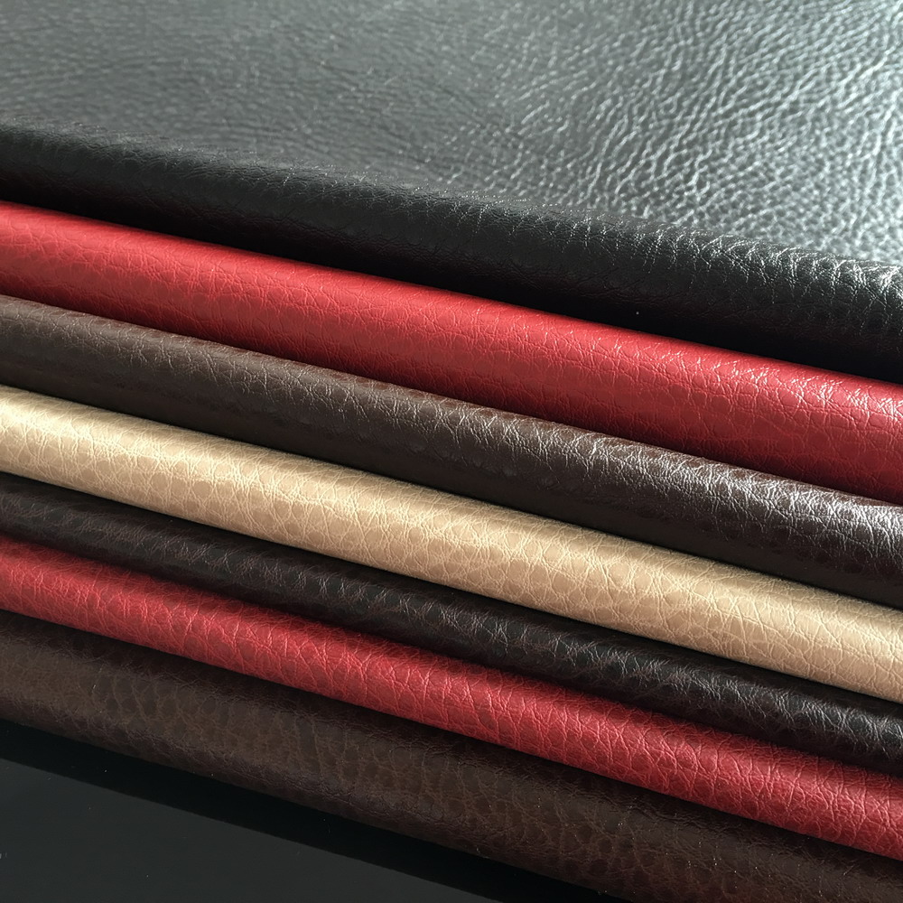 Anson manufacturer Hydrolysis resistance PU leather fabric