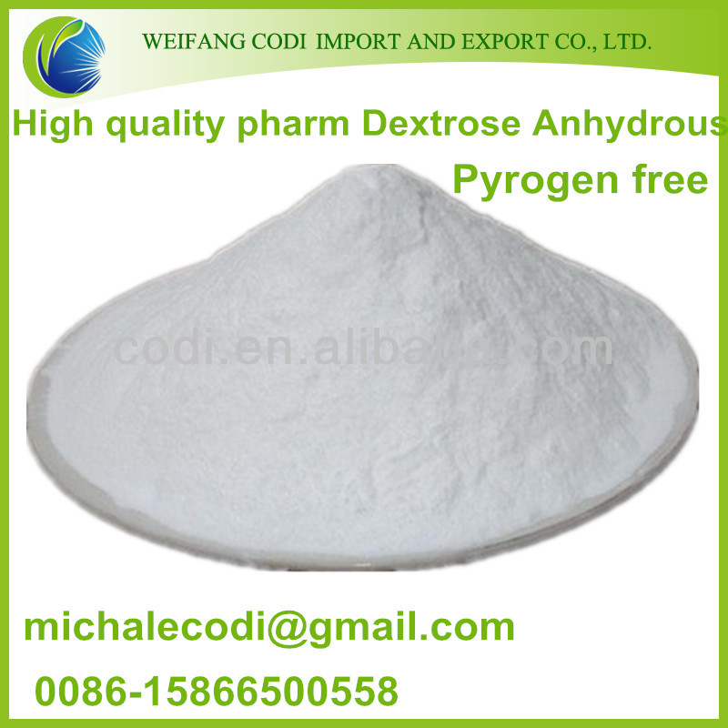 Dextrose Anhydrous powder for sodium chloride and dextrose injection