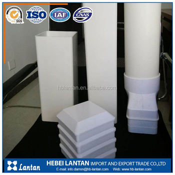 China supplier hot sales pvc square pipe sizes for hydroponic and drainage