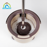 TOP QUALITY TELESCOPIC 360 DEGREE ROTATING MAGIC TWIST SPIN MOP WITH SINGLE BUCKET