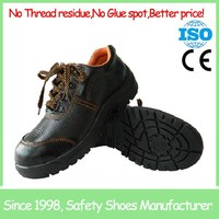 Wholesale high quality Steel toe industrial work safety boots in quantity