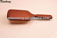 2013 New design popular paddle wooden hair brush pictures in Hairbrush