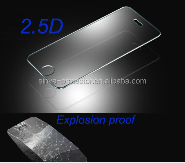 tempered glass screen protector curved glass for iphone6 mobile scratch guards machine