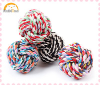 cotton rope Pet Toys Ball for Dog Toys