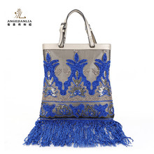 2016 fashion trend style leather women handbags tote large size bags ladies shoulder bag