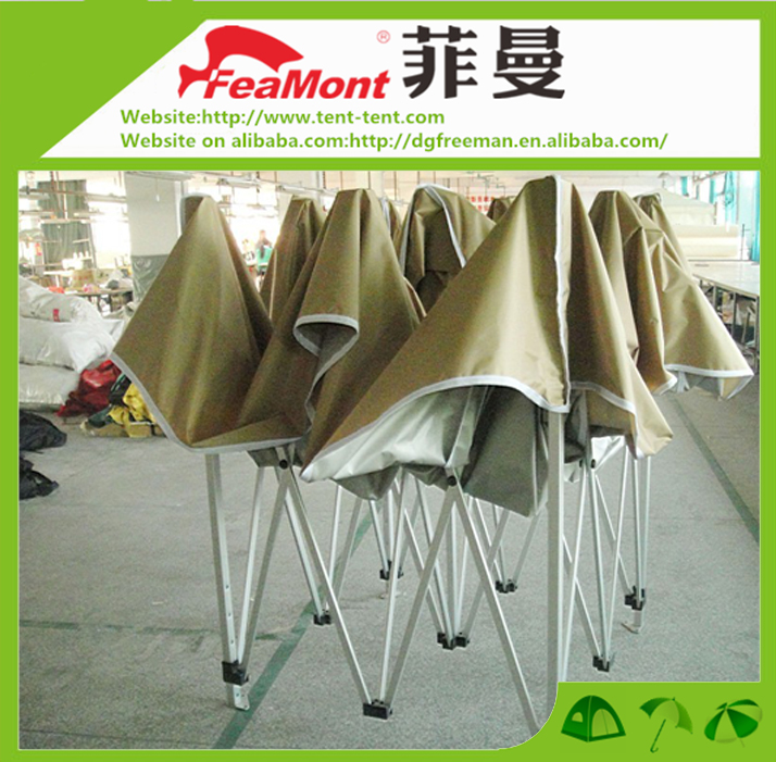 Aluminum folding bbq gazebo canopy for recreation