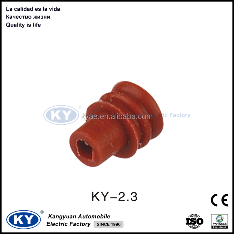 2015 red Rubber silicon connector seals