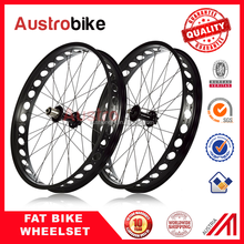 "Fatbike wheelset Fat bike wheel set 20 26"" 29"" alloy fatbike wheel carbon alloy wheelset for fat bike"