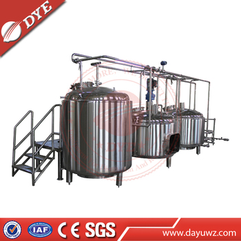 500L Dry Beer Brewing Turnkey Equipment