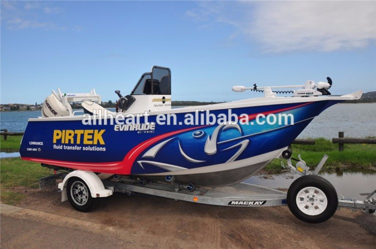 6.85 High Quality All-welded Aluminum Cabin Fishing Boat
