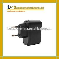 HOT SELL 5V/1.0A Travel USB Charger for Mobile Phone, EU Plug