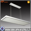 white modern pendant mounting length adjustable quadrat LED light fitting