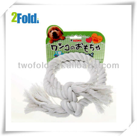 2013 White Cotton Rope Animal Toy