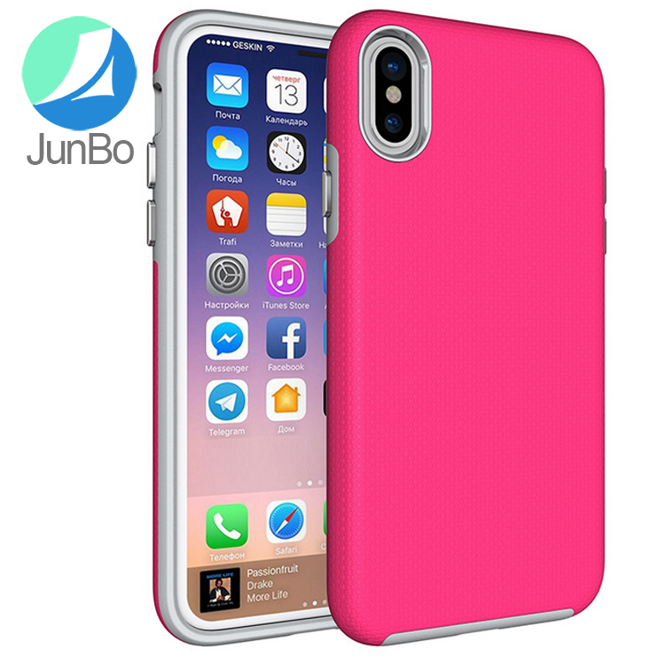 2017 trending products tpu pc armor case cover hybrid phone case for iPhone 8