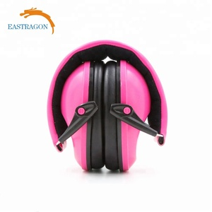 Noise Cancelling Ear Muffs Soft Kids Ear Protection