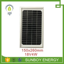 4w small solar panel for poly or mono