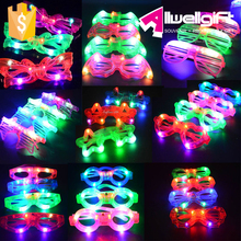 Fun LED Eye Glasses Light-Up Flashing Blinking Eye Glasses Party Bar Supplies Decoration Christmas Wedding