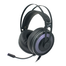 Enjoyable heavy bass noise canceling wired gaming headset system