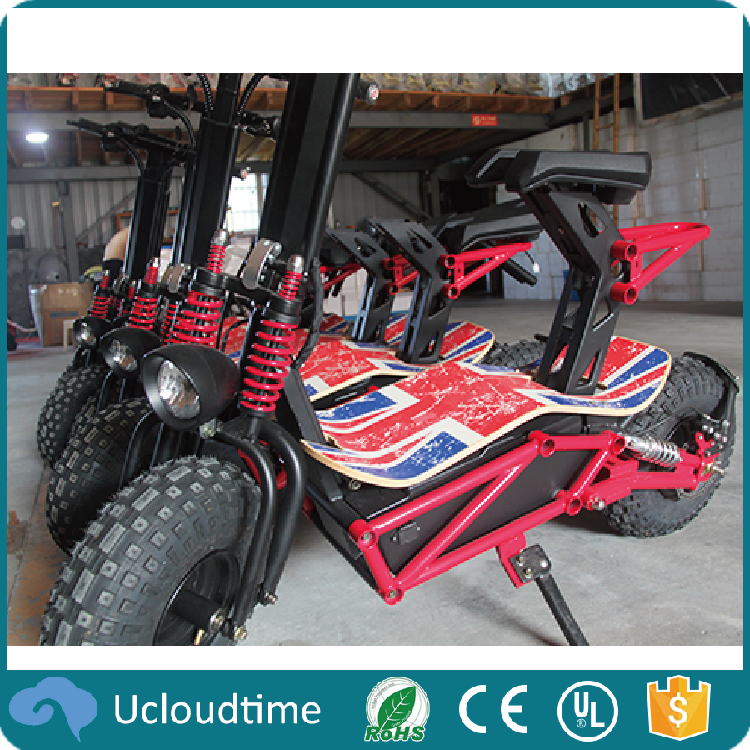 High 1000w power off road brushless electric motorcycle scooter with CE