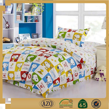 Famous brand cartoon dog print bedding set for kids
