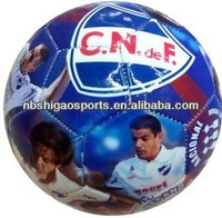Popular Cheap Custom Print Pebble Rubber Soccer Ball
