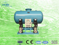 Automatic make-up water refilling pressurization device station