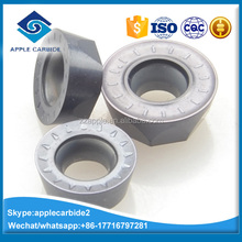 high quality tungsten carbide milling inserts /miling cutter/round inserts /R5 insert RPMW/RPMT/RCKT /RDKW