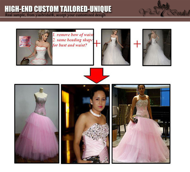 2016 Luxury Beading Red Evening Dresses Backless Chiffon Crystal Long Formal Bridal Evening Gowns QY-1206