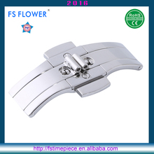 FS FLOWER - Watches Parts Factory Wholesale Metal Cam Buckle Double Pusher