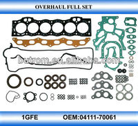 overhaul full gasket 1GFE
