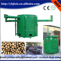 core technology of the charcoal production line--Hoisting type wood charcoal Carbonization stove/furnace/kiln
