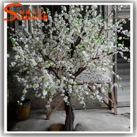 Plastic white artificial led cherry blossom tree light branches wholesale around the world
